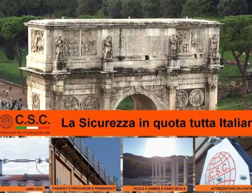 CSC by Veroni: La sicurezza in quota è tutta Italiana